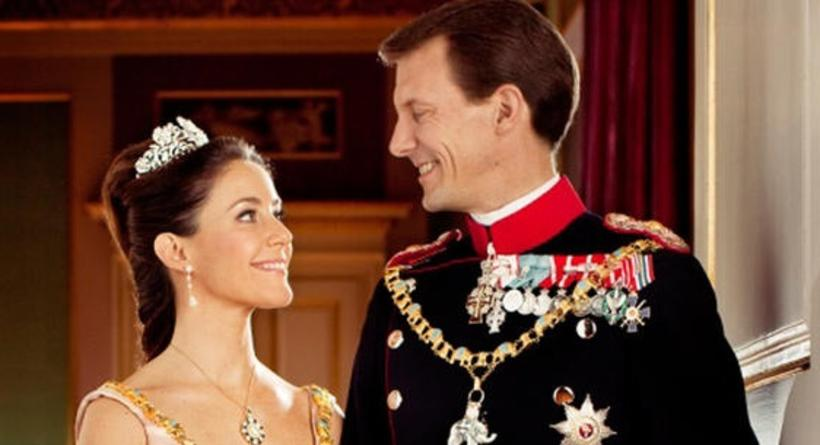 HRH Joachim and Marie of Denmark.