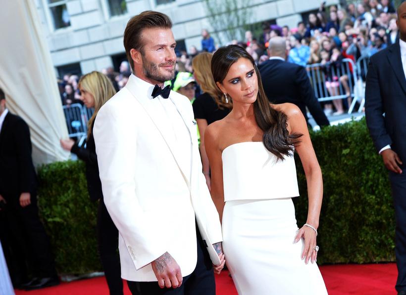 David og Victoria Beckham.