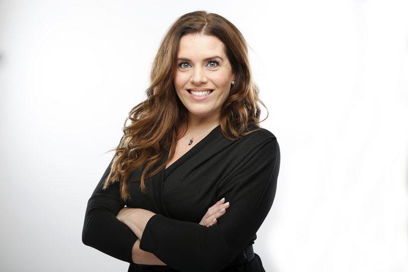 Helga Reynisdóttir ljósmóðir.