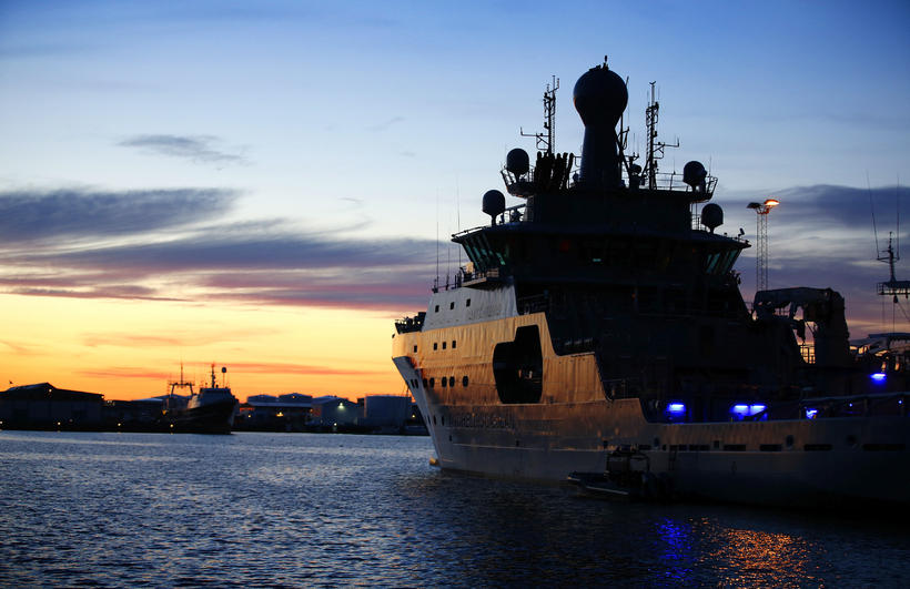 ICG patrol ship Þór.