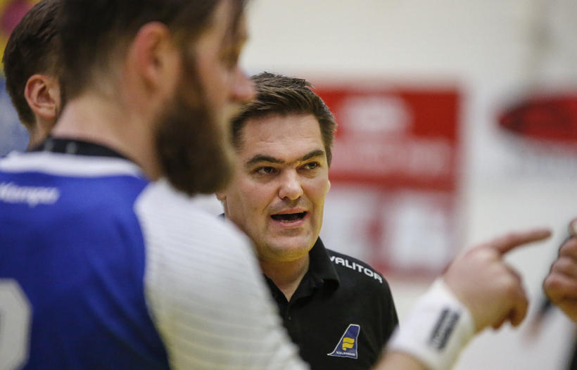 Iceland coach Aron Kristjánsson.
