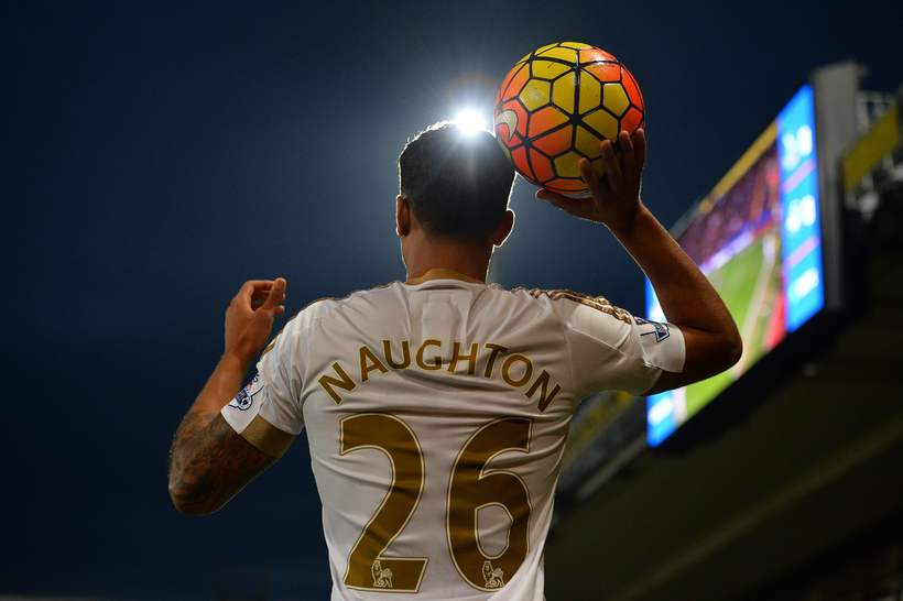 Kyle Naughton, leikmaður Swansea.
