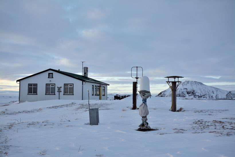 Kuldaskotið kom fram í tölum frá veðurstöðinni í Syðri-Neslöndum.