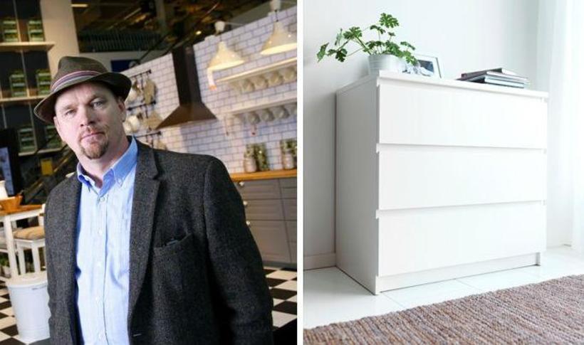 Þórarinn Ævarsson, framkvæmdastjóri IKEA og MALM kommóðan.