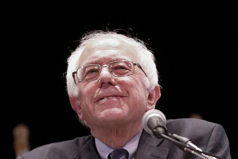 Bernie Sanders er 74 ára gamall.