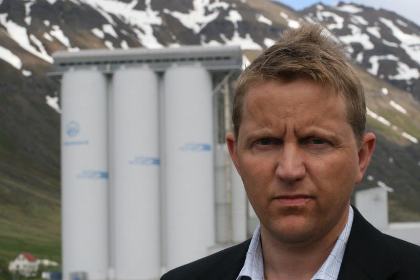 Gunnþór Ingvason forstjóri Síldarvinnslunnar Neskaupstað