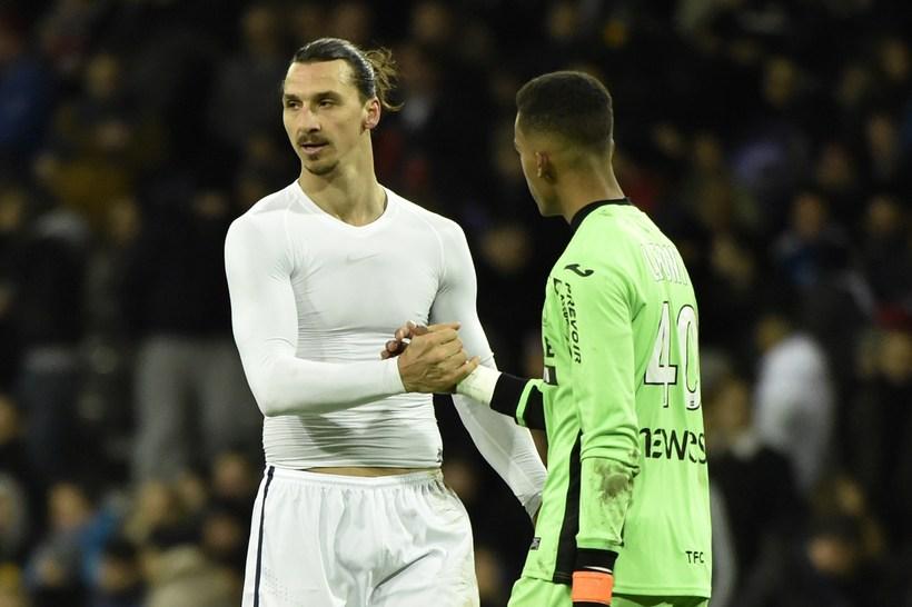 Zlatan Ibrahimovic barst til tals á blaðamannafundi Liverpool í dag.