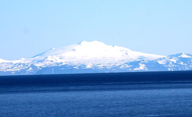 Snæfellsjökull er 1446 metra hár.