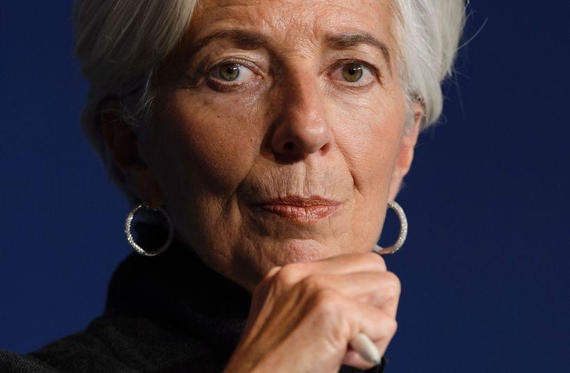 Christine Lagarde, forstjóri AGS.
