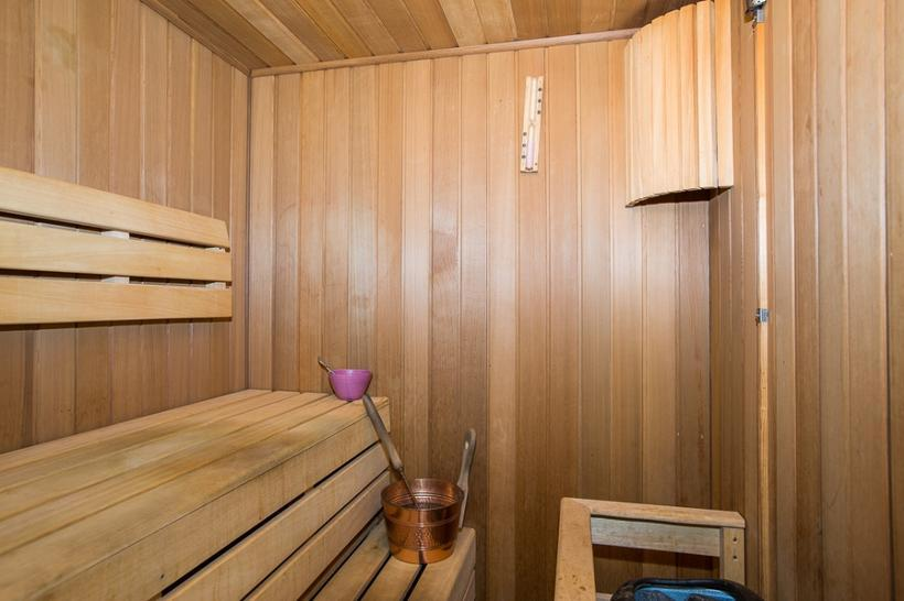 The men want to be naked inside the sauna, Finnish …