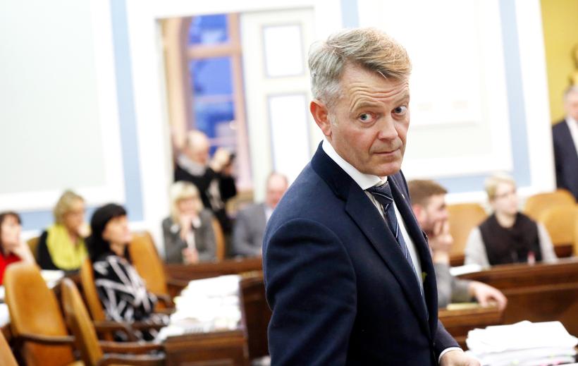Frosti Sigurjónsson, fyrrverandi alþingismaður.