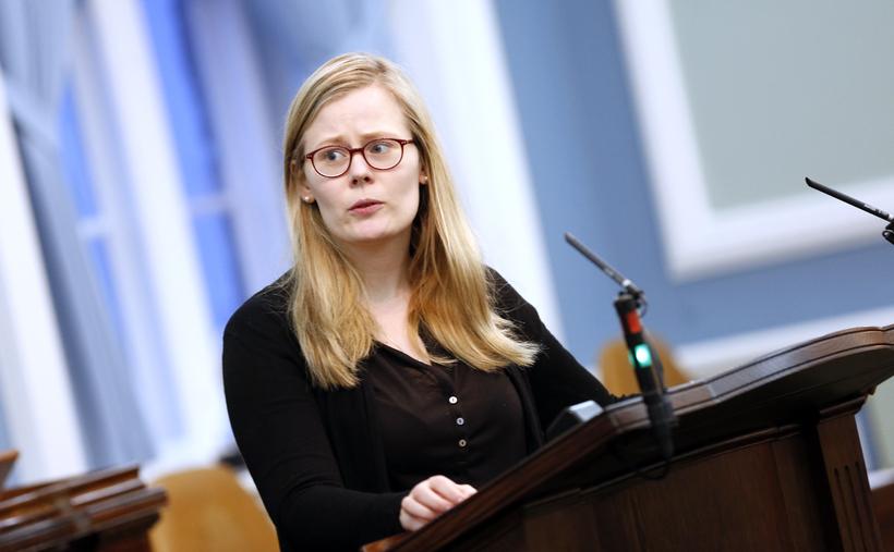 Ásta Guðrún Helgadóttir þingmaður Pírata.