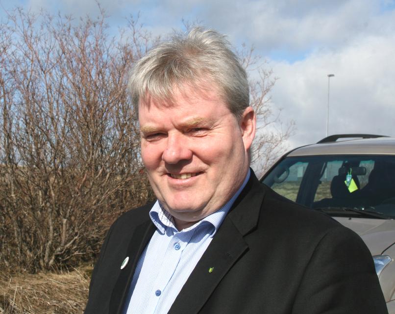 Sigurður Ingi Jóhannsson sjávarútvegs- og landbúnaðarráðherra.