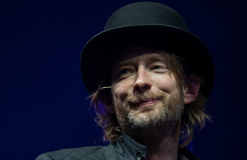 Thom Yorke, lead singer of Radiohead. Radiohead will be playing …