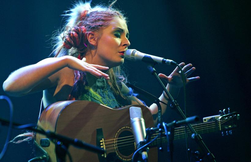 Faroese singer and songwriter Eivör Pálsdóttir.