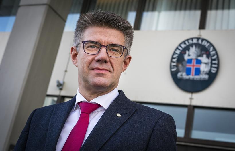 Gunnar Bragi Sveinsson, Icelandic Foreign Minister.