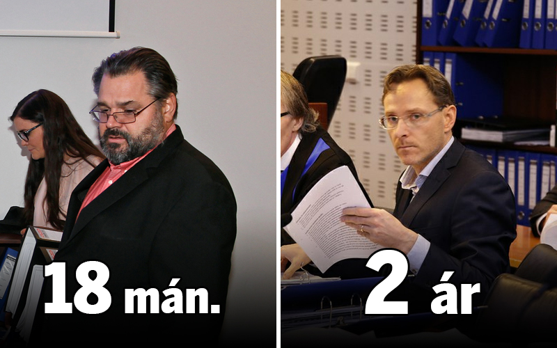 Sigurjón Árnason, fyrrverandi bankastjóri Landsbankans og Ívar Guðjónsson fyrrum forstöðumaður ...