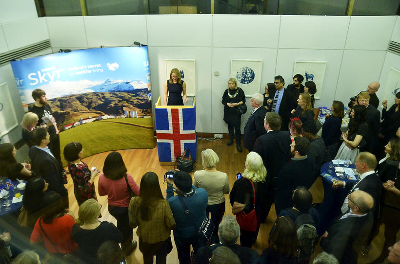 Around 150 people attended an Embassy reception last night to …