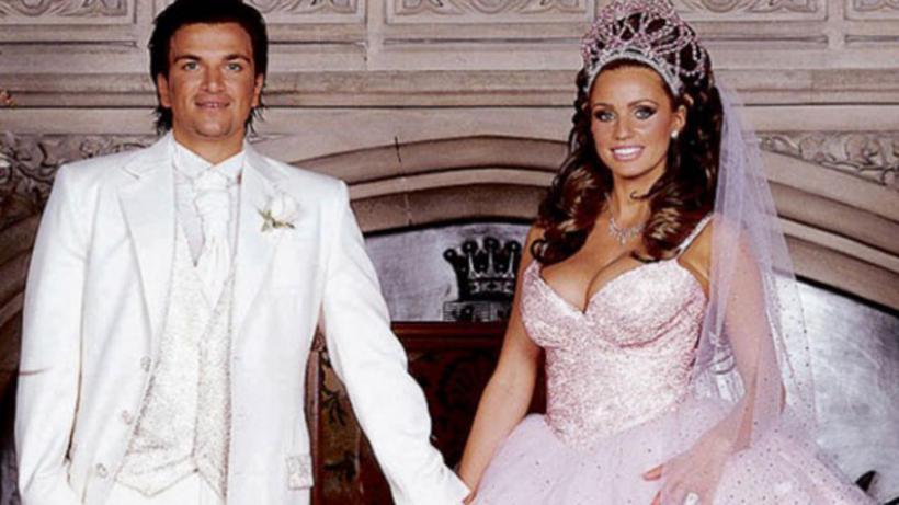 Flestum þótti brúðkaup Katie Price og Peter Andre ógleymanlegt.