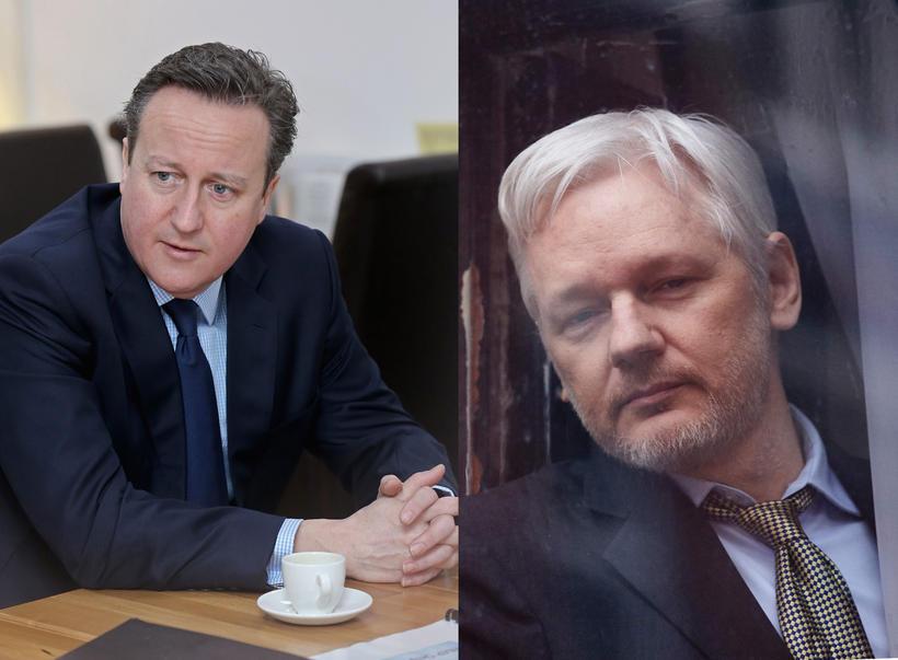 Cameron segir að Assange ætti að yfirgefa sendiráðið og taka ...