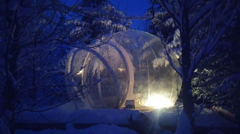 Sleeping In The Bubble Is A Unique Experience Due To