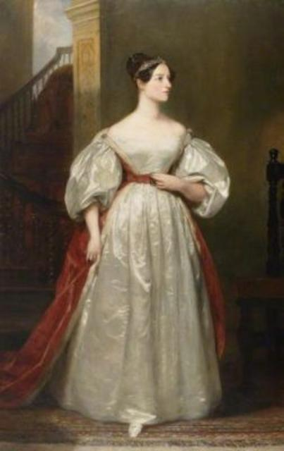 Ada Byron, Countess of Lovelace.