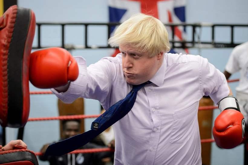 Boris Johnson líkti Evrópusambandinu við nasismann.
