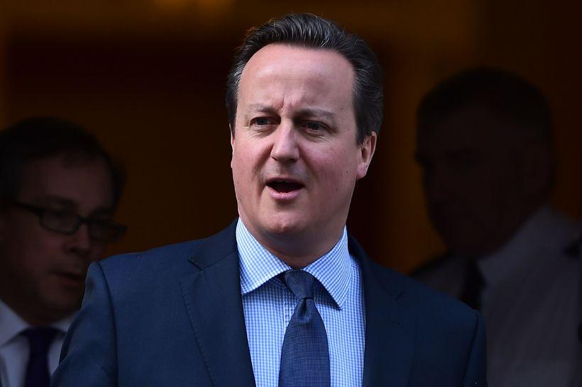 David Cameron, fyrrverandi forsætisráðherra Bretlands.