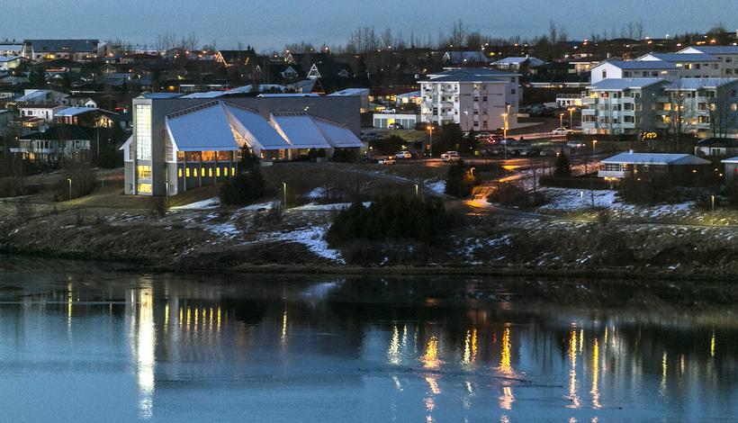 Grafarvogur is a suburb of Reykjavik.