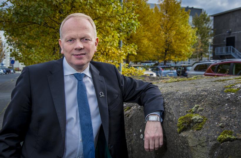 Illugi Gunnarsson, mennta- og menningarmálaráðherra.