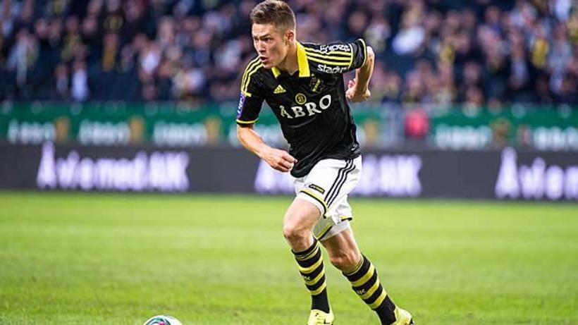 Haukur Heiðar Hauksson í leik með AIK.