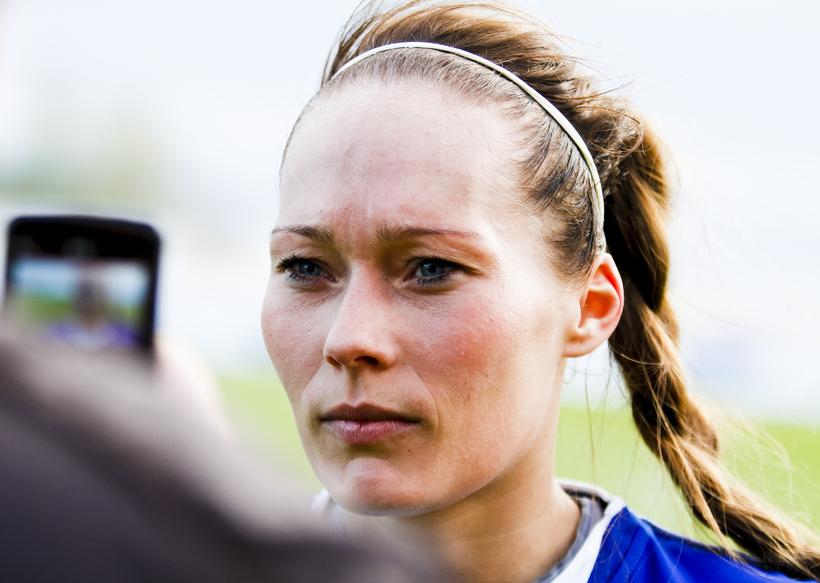 Ásgerður Stefanía Baldursdóttir, leikmaður Stjörnunnar.