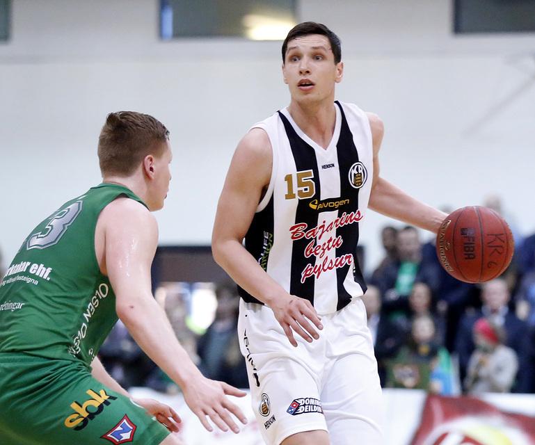 Pavel Ermolinskij, besti leikmaður Dominosdeildar karla 2014-2015.
