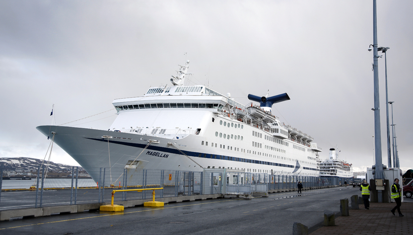 The Magellan was in Reykjavik in March this year.
