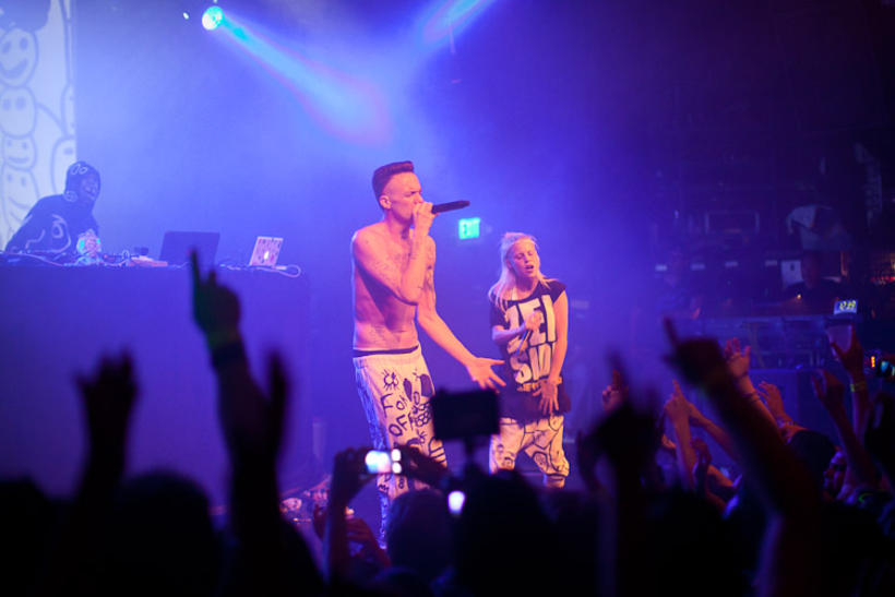 Die Antwoord will be joining Radiohead at the Secret Solstice ...