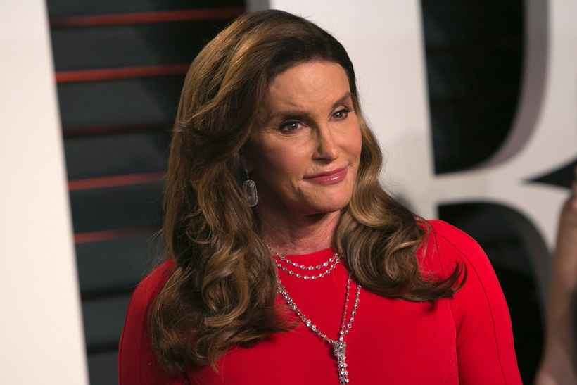 Caitlyn Jenner eyðir tíma með hinni ungu Sophia Hutchins.