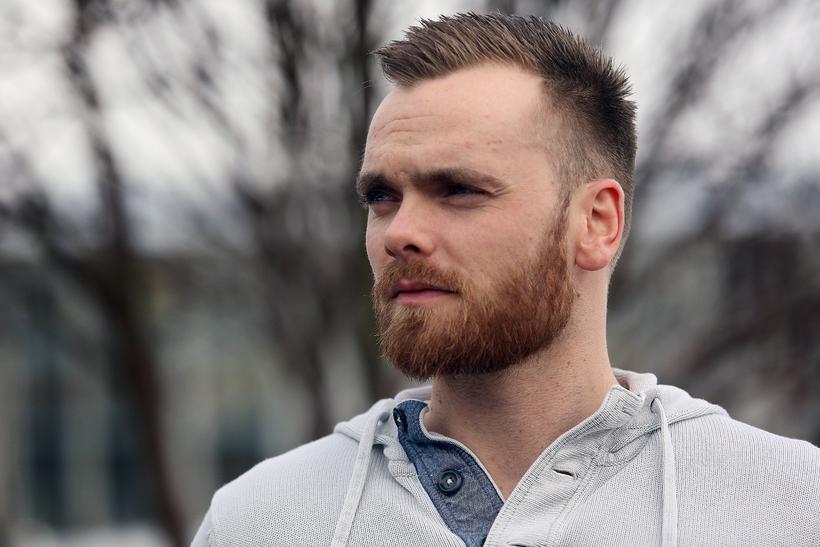 Davíð Tómas Tómasson, körfuboltadómari og rappari.