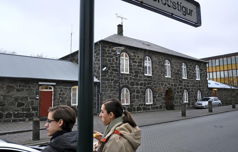 Hegningarhúsið við Skólavörðustíg var fyrsti dvalarstaður Majid á Íslandi en ...