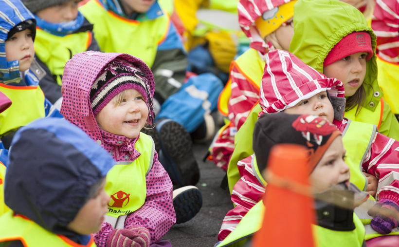 Close knit families in Iceland contribute to its happiness rating.