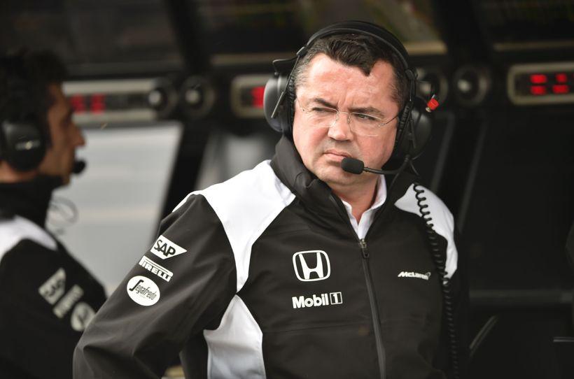 Liðsstjóri McLaren, Eric Boullier.