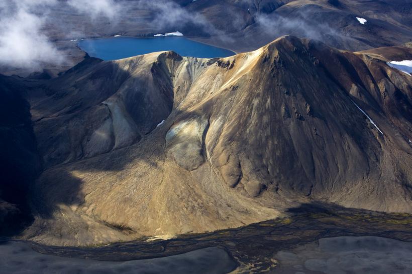 Vonarskarð. The central highlands offer geothermal energy and rivers which ...