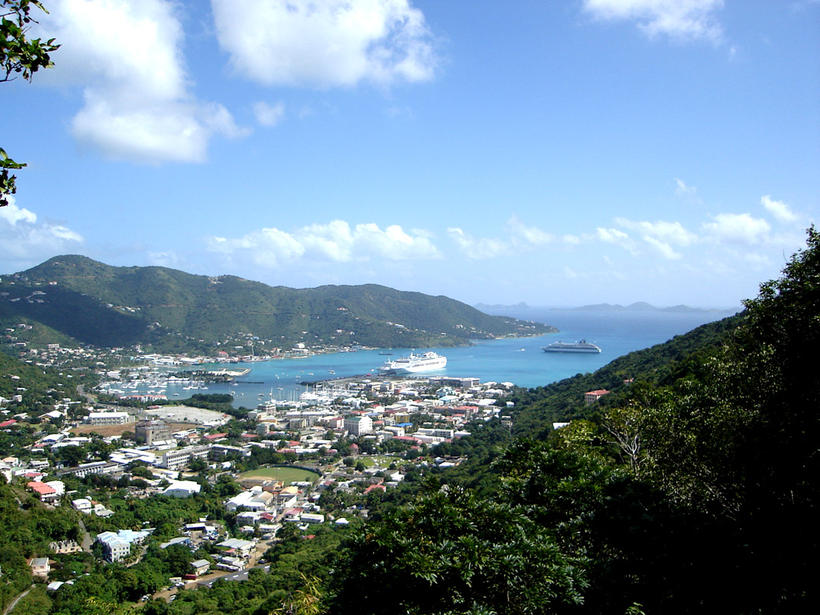 Tortola, British Virgin Islands.