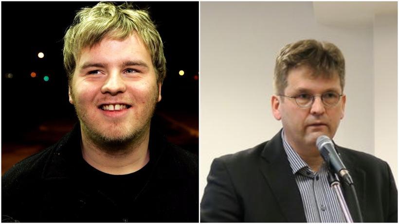 Bergvin Oddsson og Sigþór U. Hallfreðsson, nýkjörinn formaður Blindrafélagsins.
