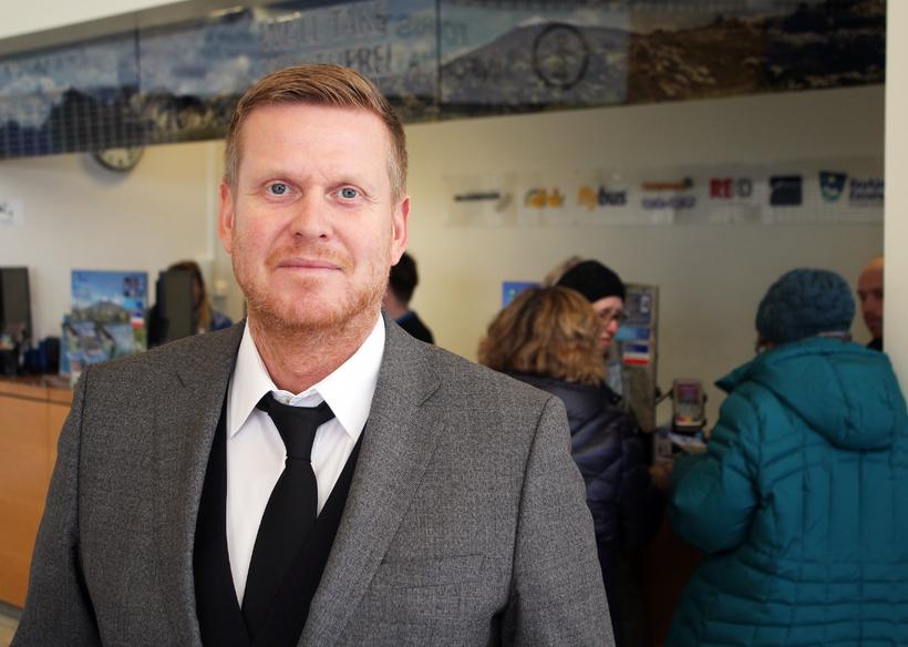 Kristján Daníelsson, managing director of Reykjavík Excursions.
