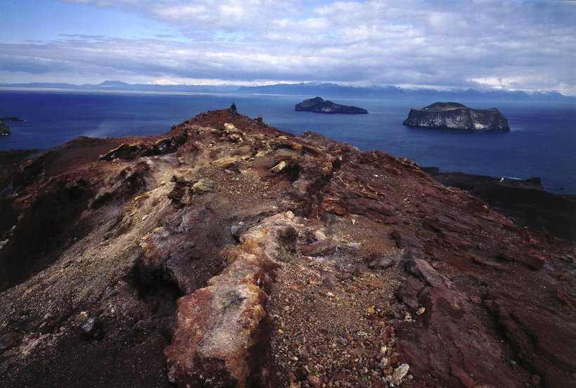 Vestmannaeyjar is a place clearly shaped by volcanic activity.