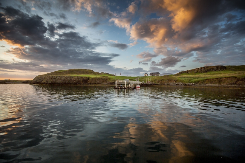 At present, Viðey is only accessibly by boat.