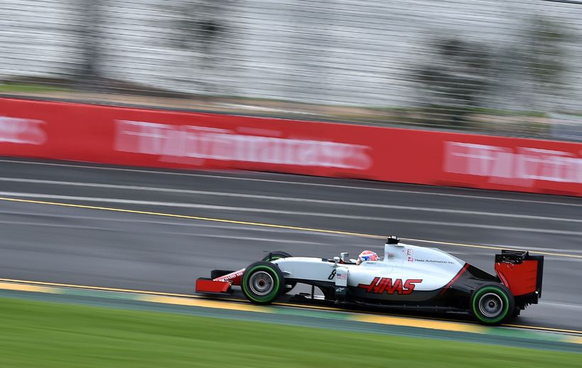 Romain Grosjean á leið til sjötta sætis í Melbourne á …