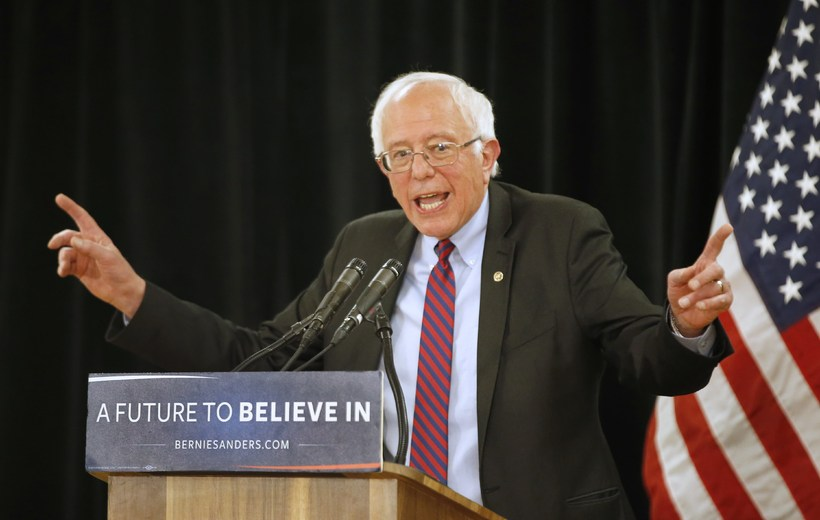 Bernie Sanders attracts the young, male vote in Iceland.