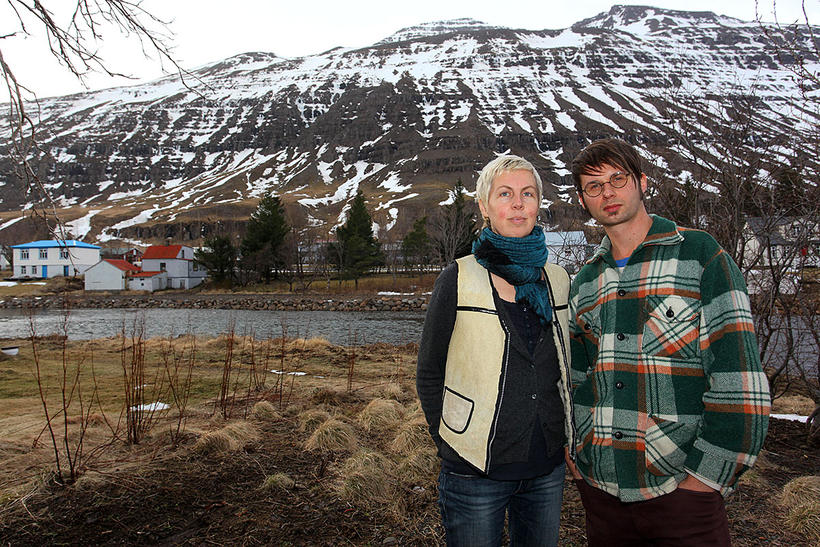 Konrad Koarbiewski and Anna Friz live in Seyðisfjörður and used …