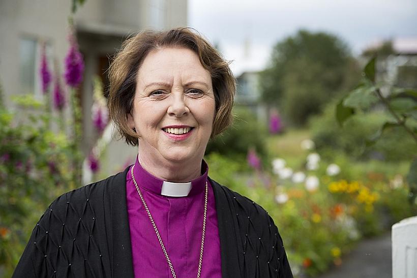Agnes Sigurðardóttir biskup Íslands.